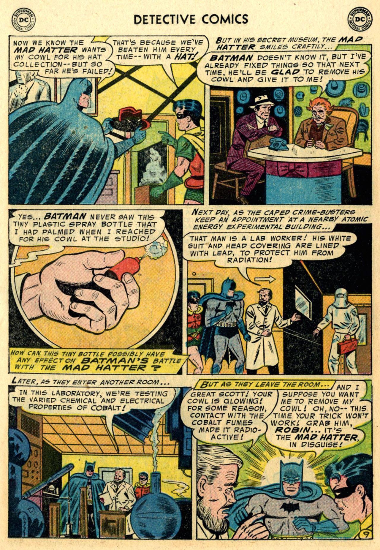 Detective Comics (1937) 230 Page 10