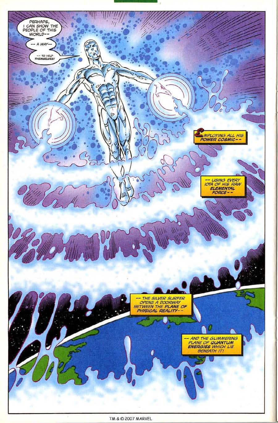 Read online Silver Surfer (1987) comic -  Issue #133 - 26