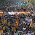 Barcelona, una manifestación contra España y a favor del independentismo