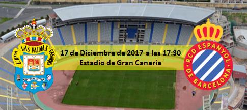 Previa UD Las PAlmas - RCD Español 17 Diciembre 17:30