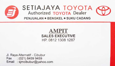 Lapak Toyota Harga Terbaru 2018 Cibubur Cileungsi Bogor Bekasi Jakarta