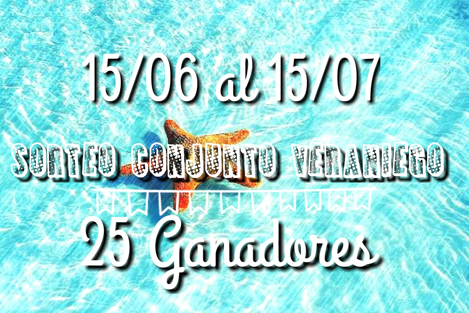 Sorteo veraniego (Activo el blog)