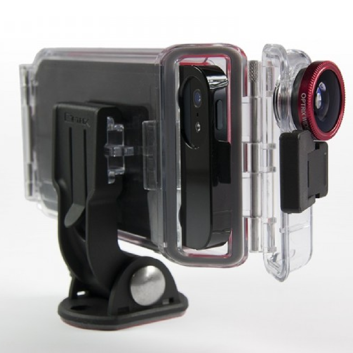 Optrix peut se fixer partout pour tout filmer