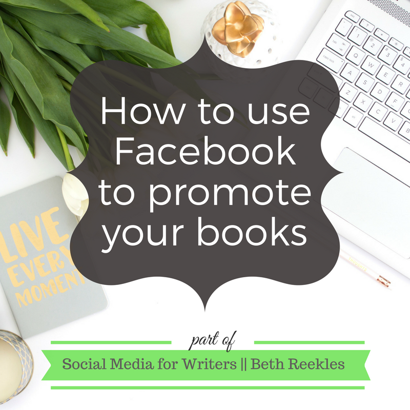 Facebook is a great tool for promoting your books and connecting with other writers. In this post, I share ways you can use Facebook groups and pages to promote your books, and why profiles aren't so great.