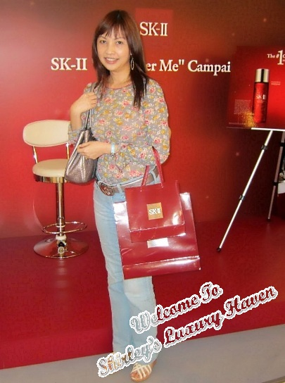 sk-ii empower me event luxury haven