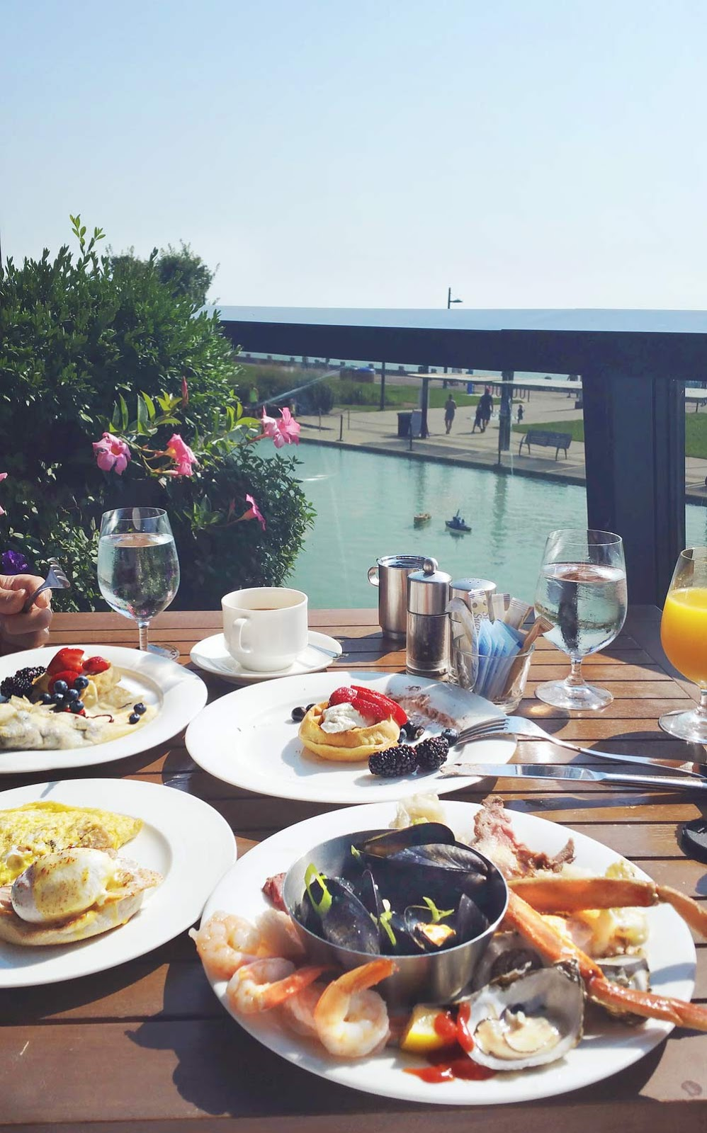 Brunch with a View {Spencer's at Waterfront}