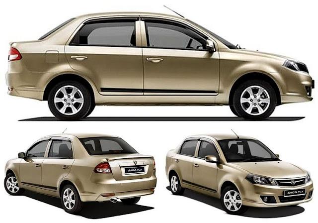 Kereta Compact Sedan Popular di Malaysia - Proton Saga