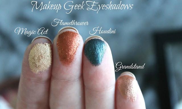 Makeup Geek Foiled Eyeshadows Swatched