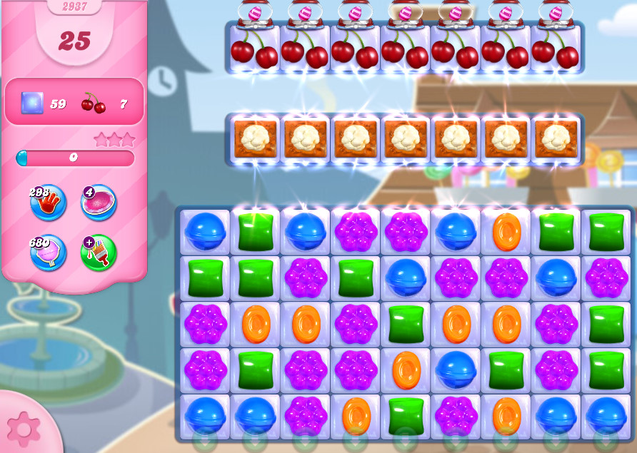 Candy Crush Saga level 2937