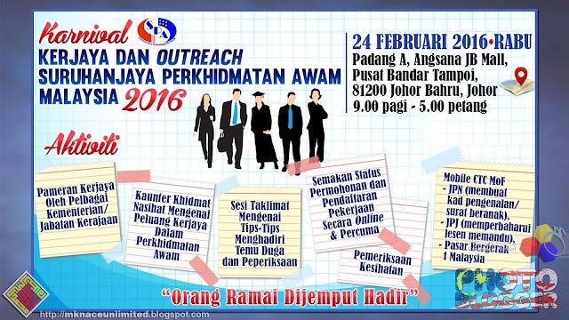 Karnival Kerjaya dan Outreach SPA 2016