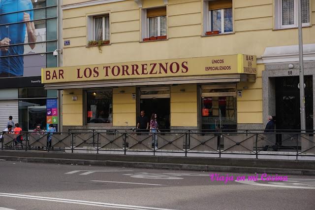 Bar Los Torreznos - Madrid