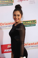 Vennela in Transparent Black Skin Tight Backless Stunning Dress at Mirchi Music Awards South 2017 ~  Exclusive Celebrities Galleries 003.JPG