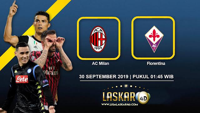 Prediksi Pertandingan Bola AC Milan vs Fiorentina 30 September 2019