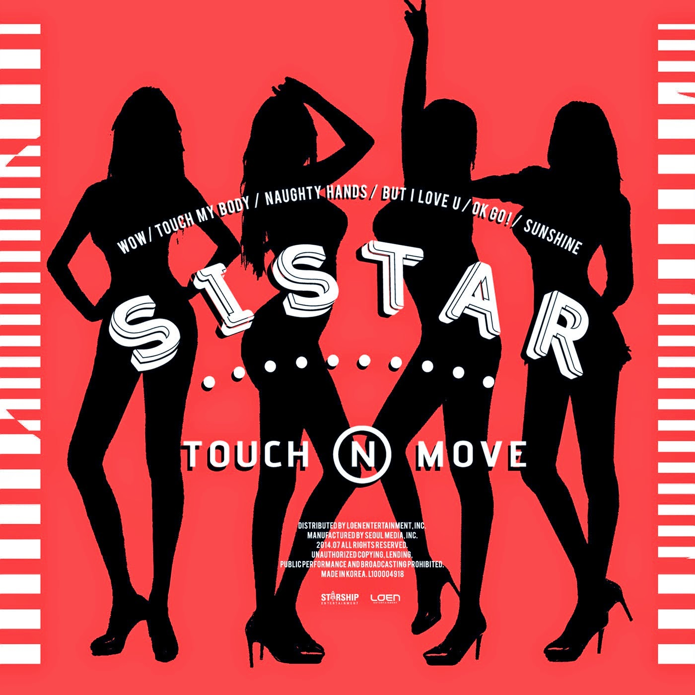 Lirik dan Terjemahan Indonesia Sistar 'WOW' (Intro)  [Hangeul] [Romanisation]