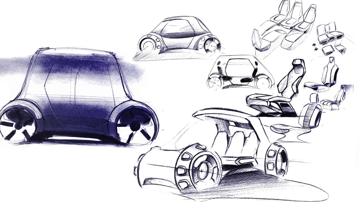 Changan Ultraefficient Vehicle by Marin Myftiu and Antoine Alaurent ...