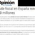 ACTIVIDAD 9 INDAGACIÓN. EL FRAUDE FISCAL EN ESPAÑA