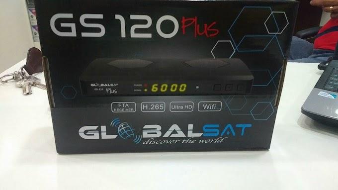 GLOBALSAT GS120 PLUS NOVA ATUALIZAÇÃO V1.15 - 29/05/2018