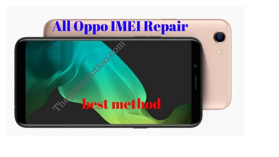 All Oppo Imei repair best method Quallcomm & Mtk   - Thegsmsolution