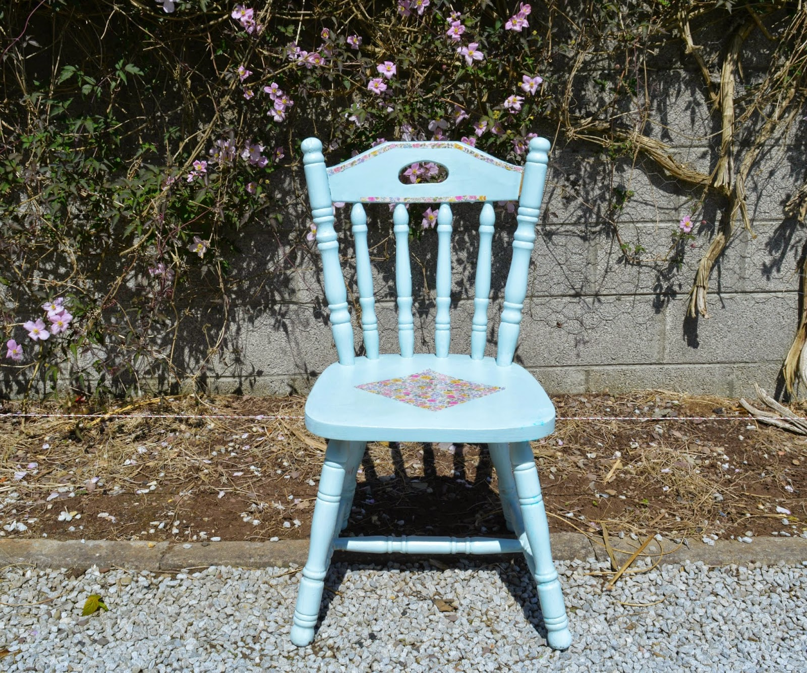 Shabby Chic Chair Childrens Bean Bag Chairs Uk Diy Upcycled Inspired  Dolly Dowsie