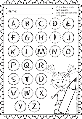 Classroom Freebie Alphabet Printable Worksheet
