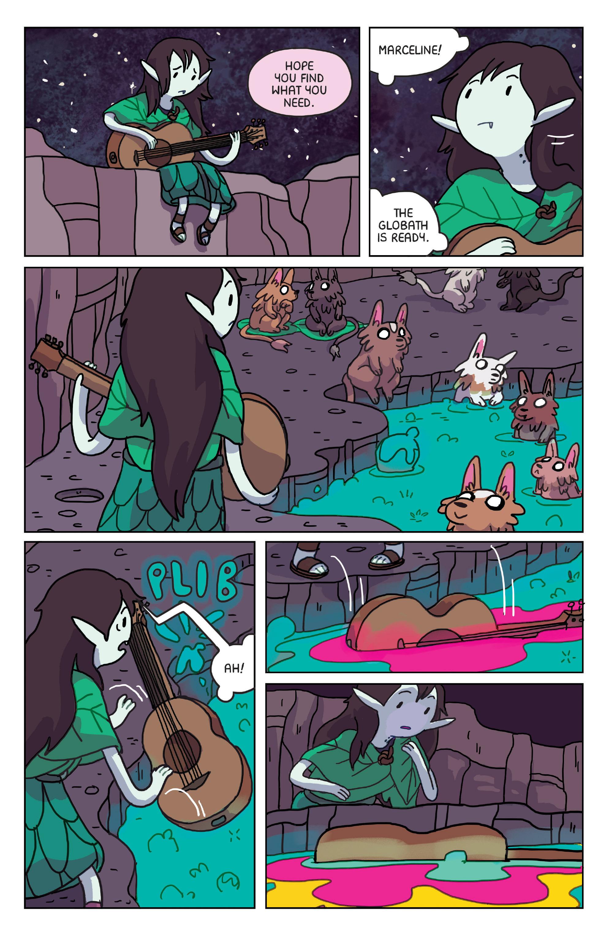 Read online Adventure Time: Marceline Gone Adrift comic -  Issue #4 - 21