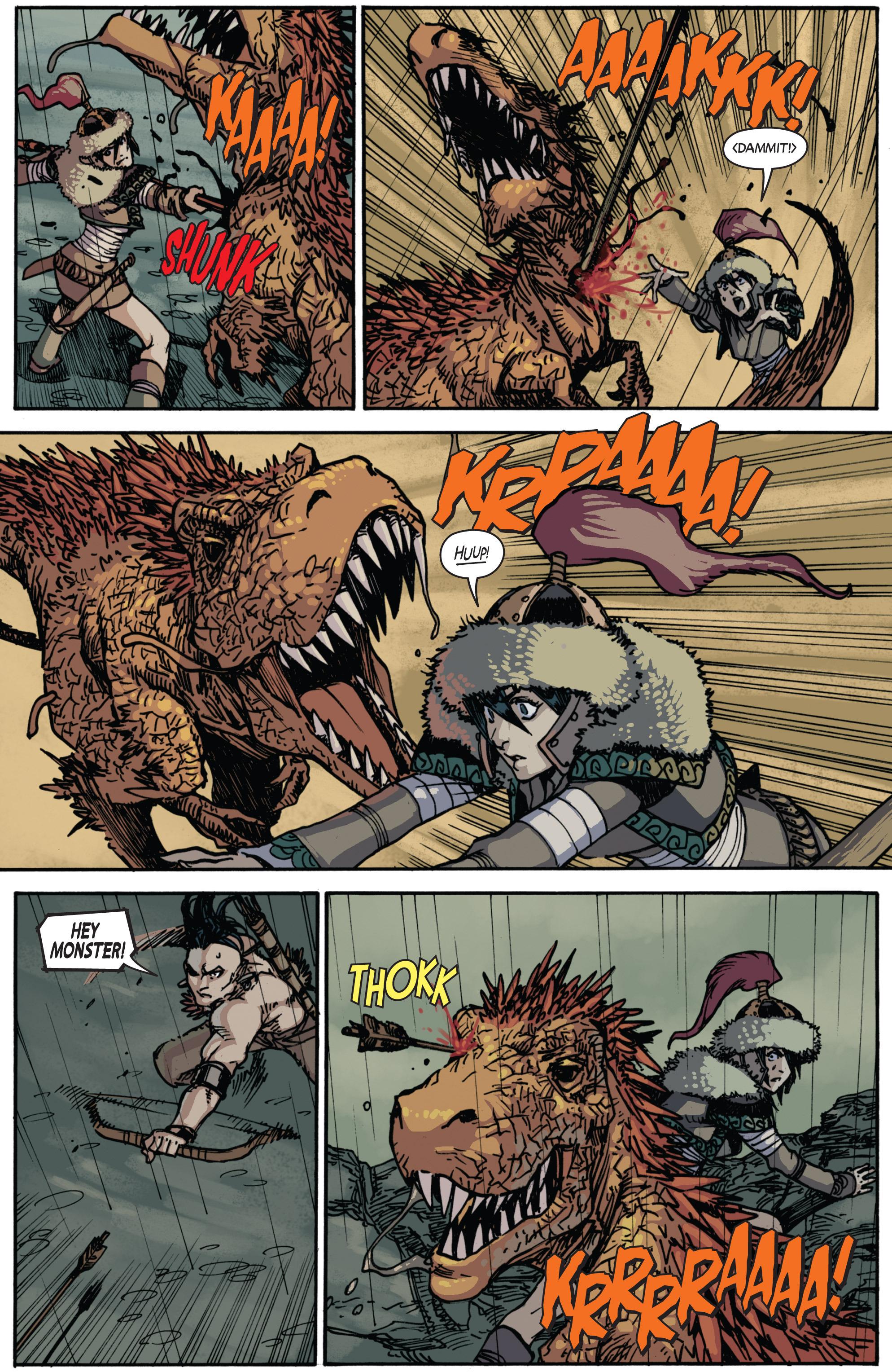 Read online Turok: Dinosaur Hunter (2014) comic -  Issue # _TPB 2 - 11
