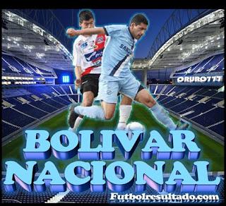 Bolívar vs Nacional Potosí en vivo