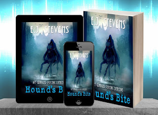 #AudiobookMonth Hound's Bite Release Party Giveaway