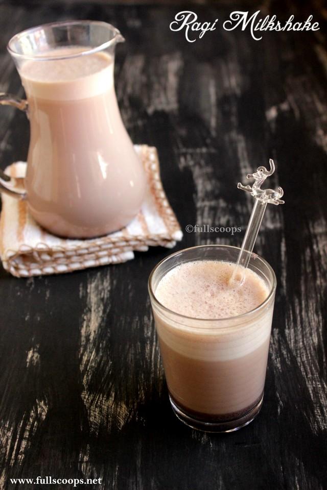 Ragi Milkshake
