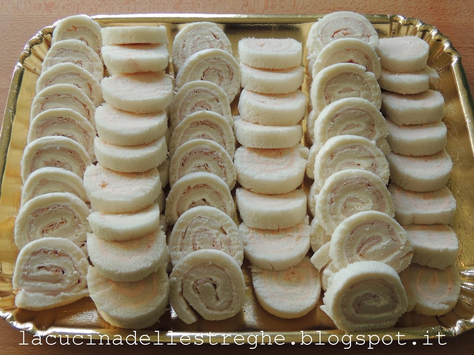 Amato La cucina delle streghe: Girelle di tramezzini YG04