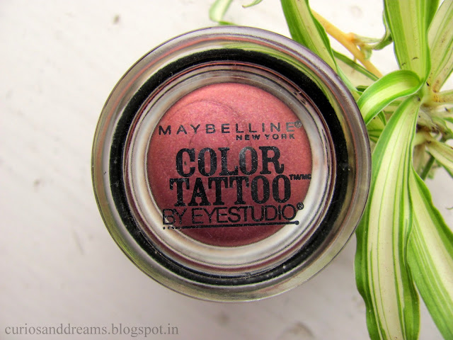 Maybelline Color Tattoo Pomegranate Punk Review