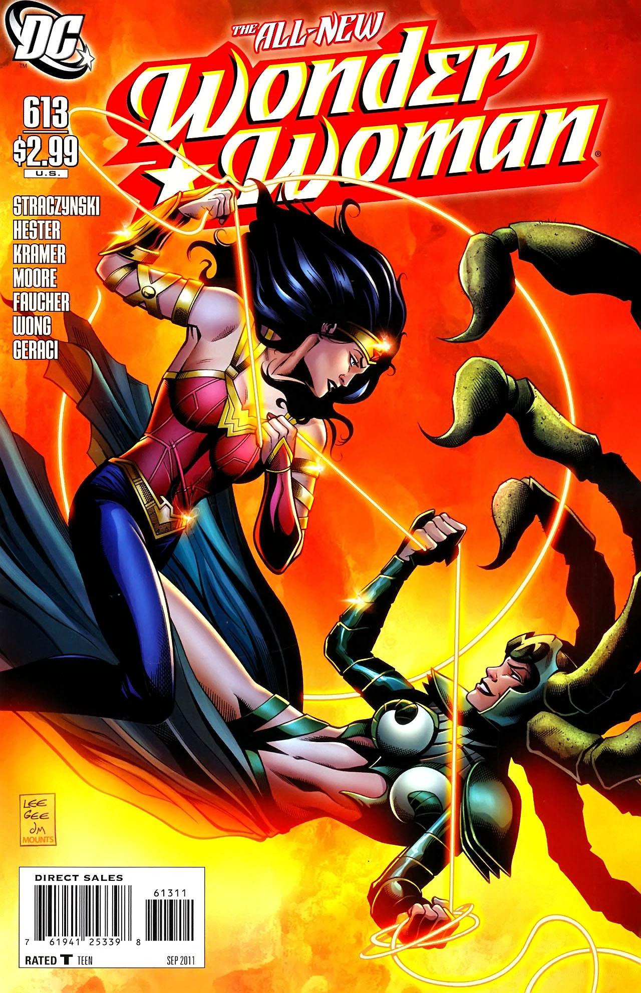 Read online Wonder Woman (2006) comic -  Issue #613 - 1