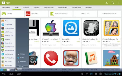 Mimic your Android device to look like Windows 8 screen complete with start button
