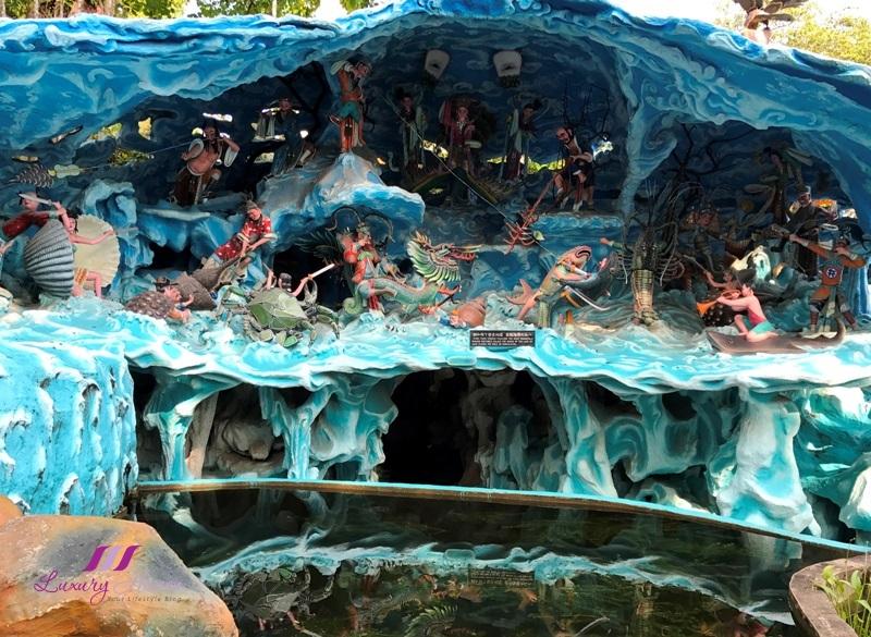 haw par villa eight immortals chinese folklore