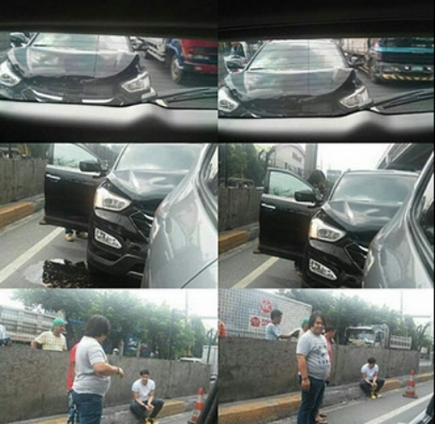 BREAKING NEWS: Alden Richards got involved in a car accident!