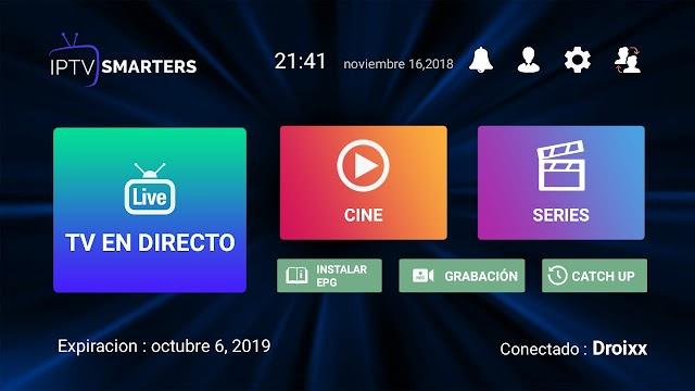 IPTV Smarters Pro APK + Configuración Canales Latinos
