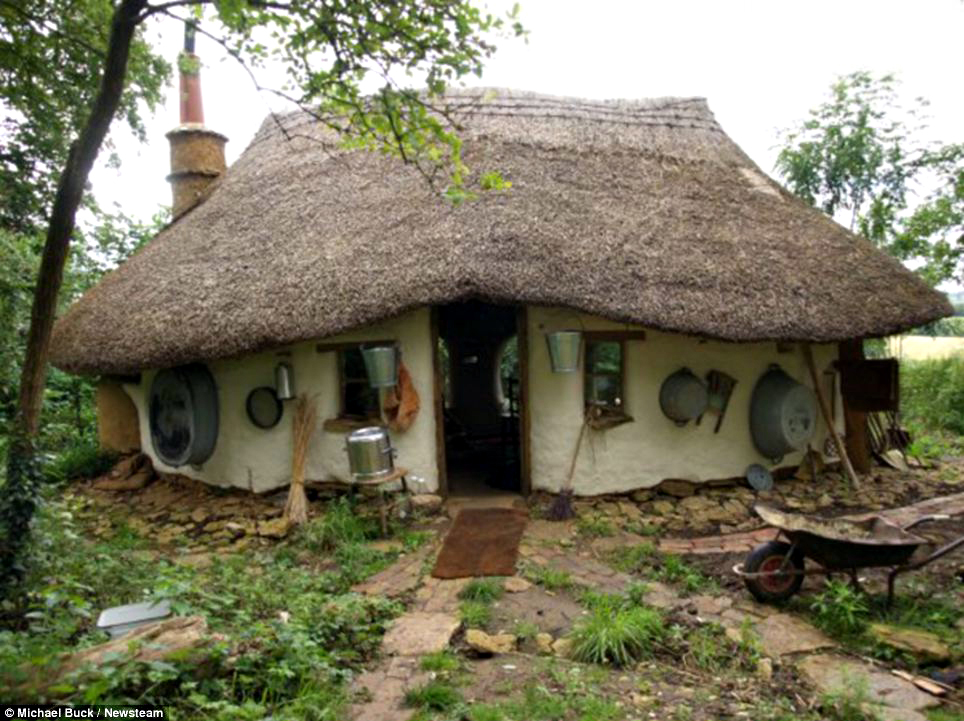 223222df08b UK Farmer Builds  250 Hobbit House With Used Materials