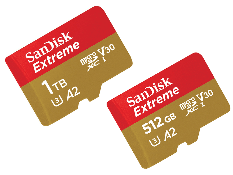 #MWC19 Sandisk announces 1TB and 512GB microSD cards!