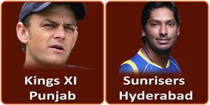 आइपीएल 6 का पचीसवां मैच किंग्स एलेवेन पंजाब और के सनराइजर्स हैदराबाद बीच होना है।