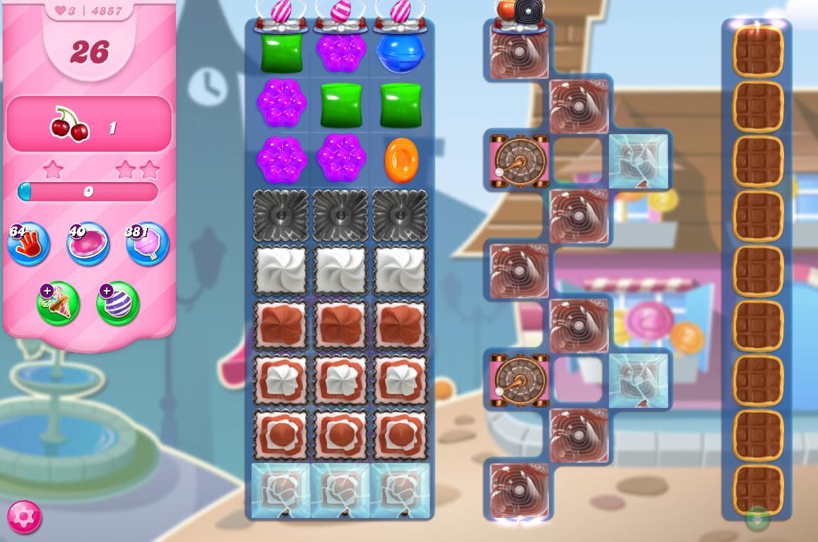 Candy Crush Saga level 4857