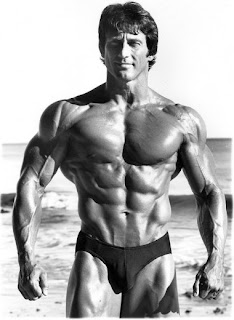 Did frank Zane have a 4 pack or a 6 pack