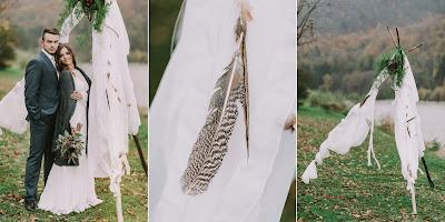 Ślub w stylu etno