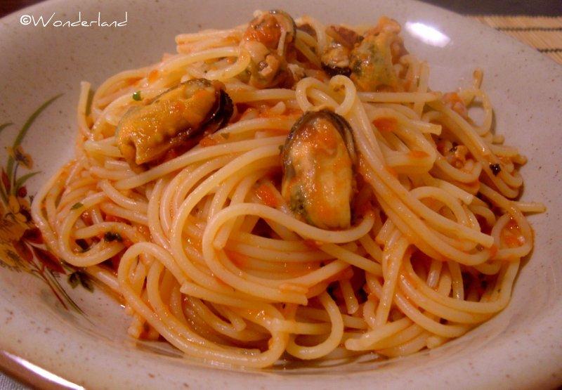 Spaghetti frutti di mare surgelati - Super Cuoca