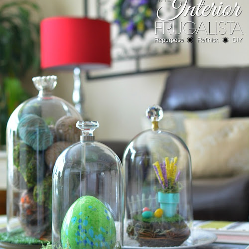 How To Make DIY Glass Cloches In Two Easy Steps