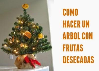 Como Adornar un Arbol de Navidad con Frutas Desecadas