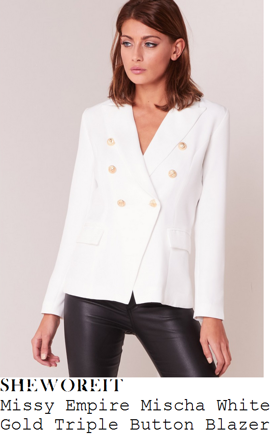 rosie-fortescue-missy-empire-mischa-white-gold-button-detail-tailored-blazer