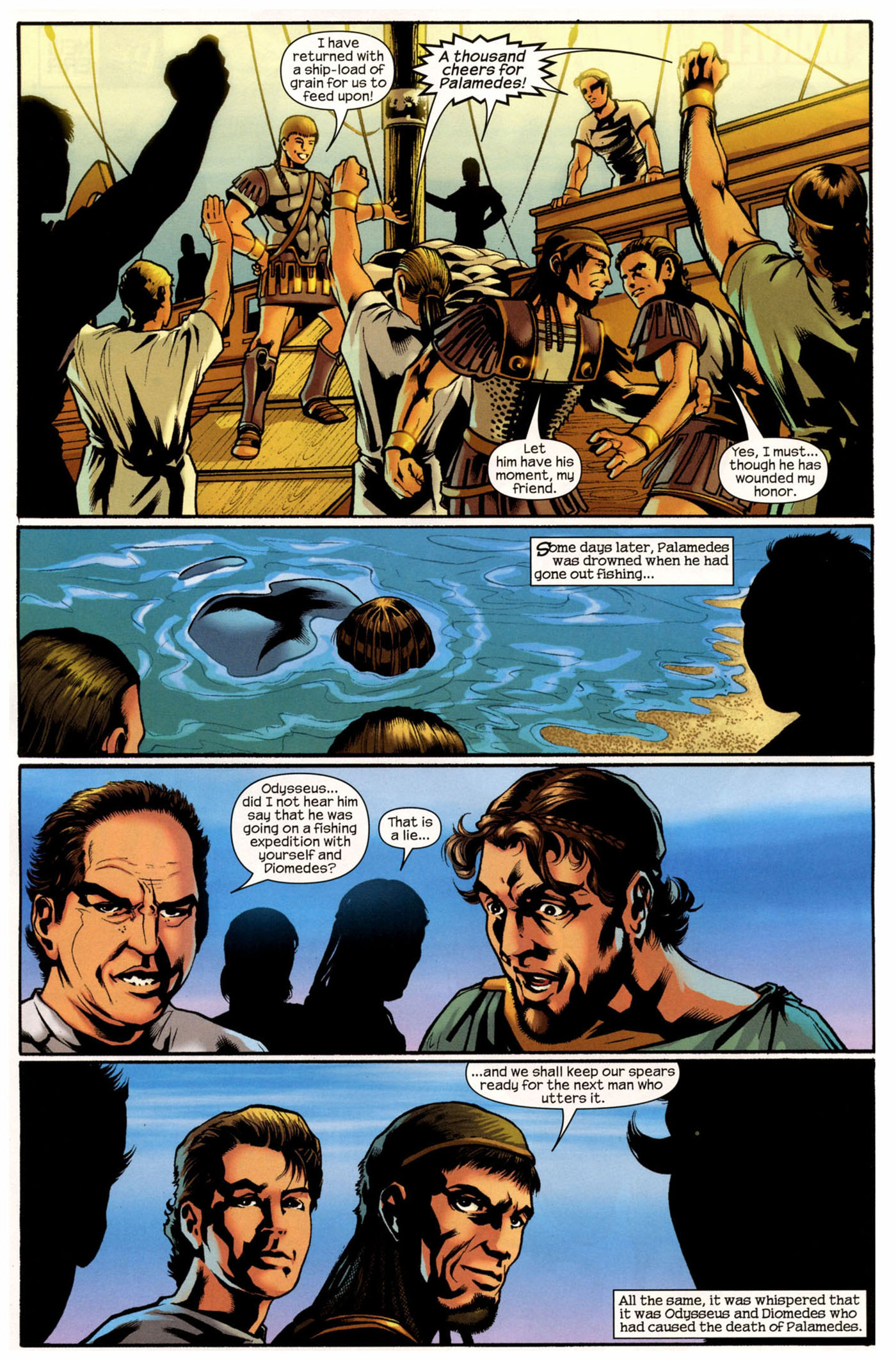 Read online Trojan War comic -  Issue #2 - 22