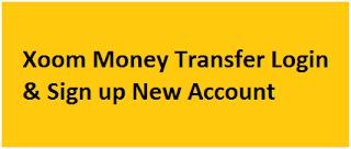 Xoom Money Transfer Login