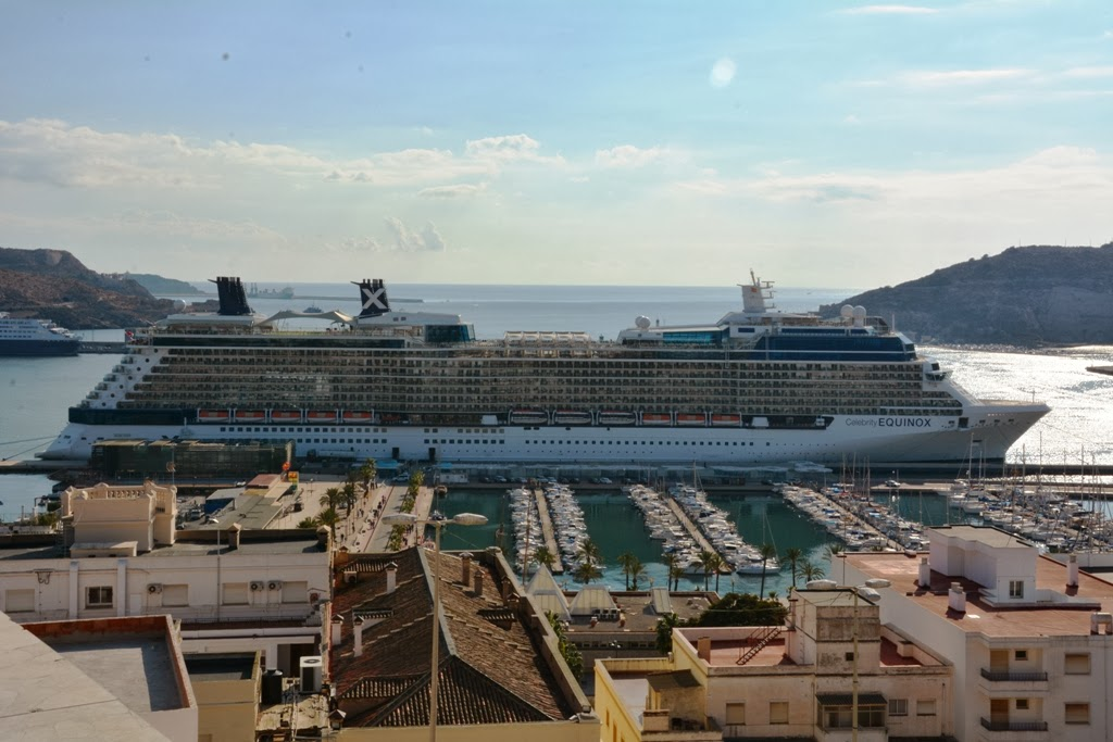 Celebrity Equinox in Cartagena