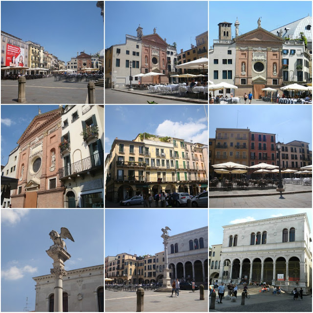 O que fazer em Padova (Pádua) além do Santo Antônio - Piazza dei Signori
